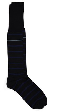 John W. Nordstrom Men's Parallel Lines Over The Calf Socks