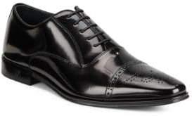 Versace Spazzolato Brogue Oxford Shoes