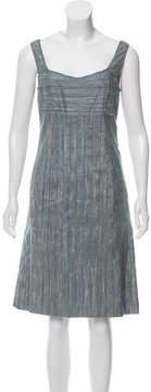Cacharel Sleeveless Silk Dress