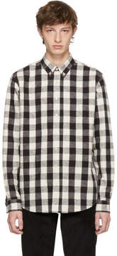 Off-White Schnaydermans Black and Large Check Leisure Shirt