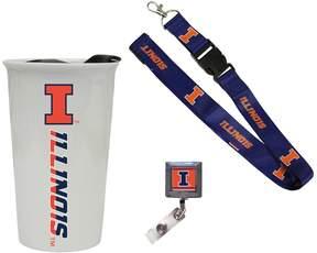 NCAA Illinois Fighting Illini Badge Holder
