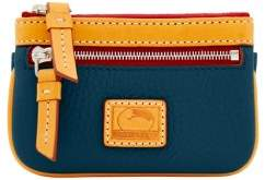 Dooney & Bourke Patterson Leather Small Coin Case - MIDNIGHT BLUE - STYLE