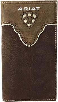 Ariat Shield Cut Out Overlay Rodeo Wallet Wallet