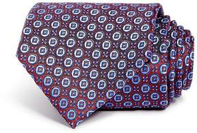 Bloomingdale's The Men's Store at Mini Circle Medallion Classic Tie - 100% Exclusive