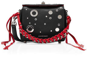 Alexander McQueen Embellished Leather Box Bag 16