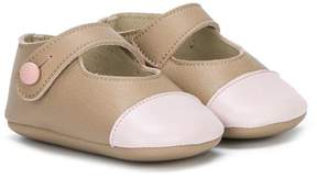 Pépé tone-tone crib shoes