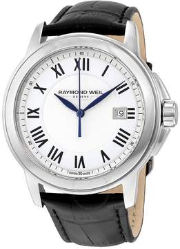 Raymond Weil Tradition White Dial Men's Watch
