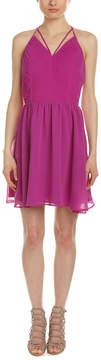 Adelyn Rae Pleated Halter A-Line Dress