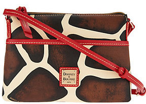 Dooney & Bourke As Is Animal Print Ginger Pouchette - ONE COLOR - STYLE