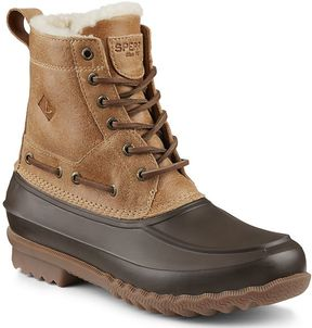 Sperry Decoy Shearling Duck Boot