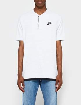 Nike Tech Knit Polo in White