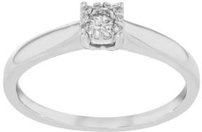 Damiani Bliss 18K White Gold & 0.12 ct Diamonds Engagement Ring