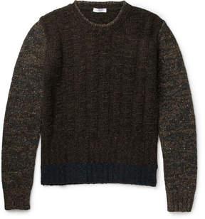 Boglioli Mélange Wool-Blend Sweater