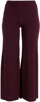 Celeste Purple Palazzo Pants - Plus