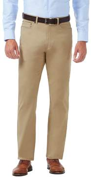 Haggar Men's J.M. Premium Relaxed-Fit Stretch 5-Pocket Pants