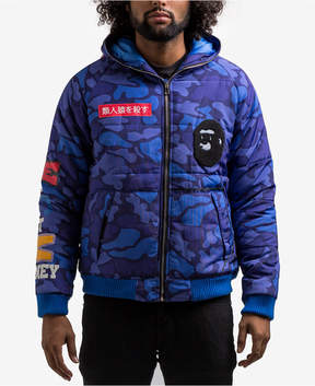 Hudson Nyc Men's Hooded Camo Jacket