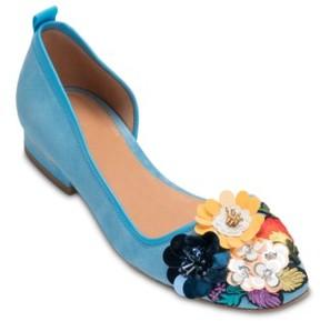 Bill Blass Women's Lola Half D'Orsay Flat