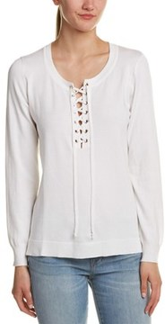 Central Park West Lace-up Pullover.