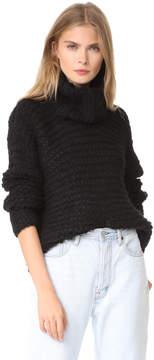 Apiece Apart Nepenthe Alpaca Turtleneck Sweater