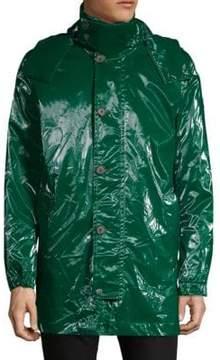Paul & Shark Long-Sleeve Hooded Coat