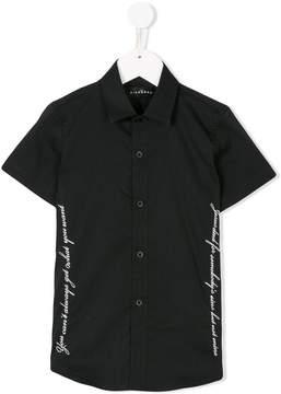 John Richmond Kids short sleeve printed shirt