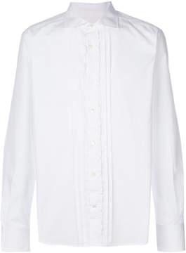 Ermanno Scervino ruffle trim shirt