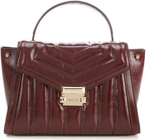 MICHAEL Michael Kors Whitney Small Quilted Top-Handle Satchel