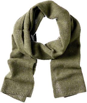 Portolano Men's Loden Cashmere Knitted Scarf