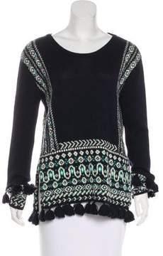 Calypso Tassel-Trimmed Alpaca Sweater