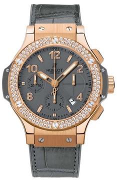 Hublot 341.PT.5010.LR.1104 Big Bang Earl Gray Gold 18K Rose Gold 41mm Mens Watch