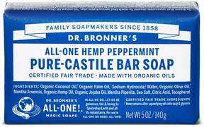 Dr. Bronner's Organic Peppermint Castile Bar Soap by 5oz Bar)