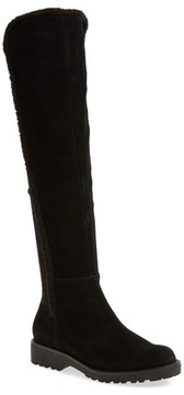 Sole Society Women's Juno Faux Shearling Trim Boot