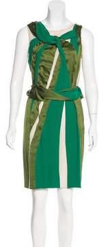 Bottega Veneta Sleeveless Silk Dress