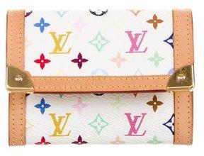 Louis Vuitton Multicolore Coin Purse - WHITE - STYLE