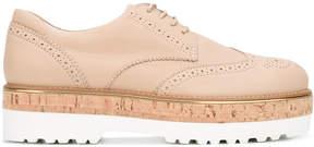 Hogan platform brogue shoes