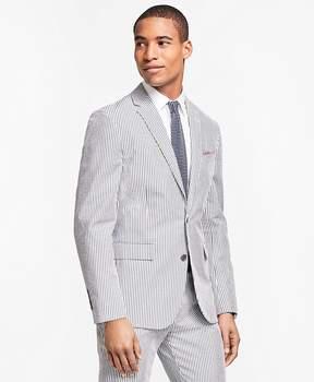 Brooks Brothers Stripe Cotton Seersucker Suit Jacket