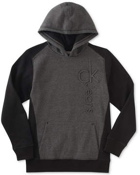 Calvin Klein Hooded Sweatshirt, Big Boys (8-20)