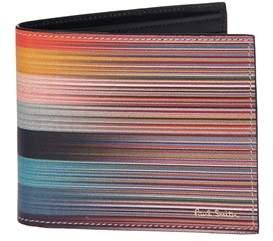 Paul Smith Men's Multicolor Faux Leather Wallet.