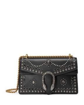 Gucci Dionysus Studded Shoulder Bag, Black - BLACK - STYLE