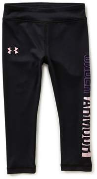Under Armour Little Girls 2T-6X Pearlescent Leggings