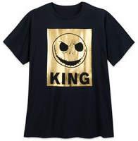 Disney Jack Skellington Metallic T-Shirt for Men - Plus Size
