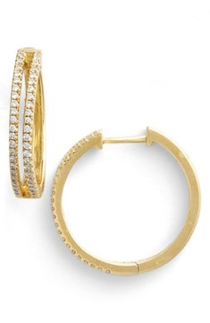 Bony Levy Women's Diamond Split Hoop Earrings (Limited Edition) (Nordstrom Exclusive)
