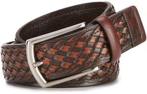 Daniel Cremieux Basket Weave Leather Belt