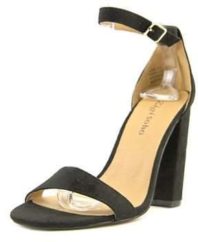 Zigi Loise Women Open Toe Synthetic Black Sandals.