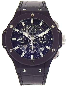 Hublot Big Bang Aero Black Magic 311.CI.1170.GR Black Ceramic / Leather & Rubber 44mm Mens Watch