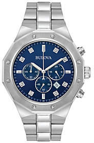 Bulova Men's Diamond Accent Chronograph Watch