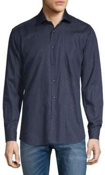 Jared Lang Stripe Long Sleeve Shirt