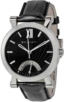 Bvlgari Sotirio Automatic Retrograde Date Tang Men's Watch SB42BSLDR