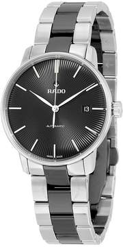 Rado Coupole Classic Automatic Black Dial Stainless Steel Black Ceramic Men's Watch
