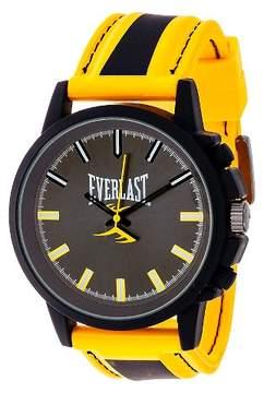 Everlast Men's Analog Watch - Yellow